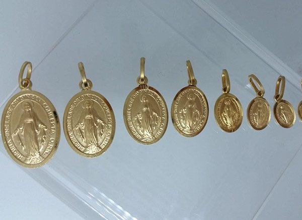 Medallas Virgen de los Rayos